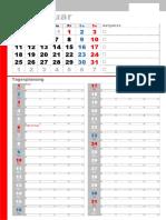 Template 003 Kalendar