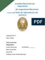 Informe Final de Quimica N4
