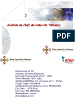 Análisis de Flujo de Potencia Trifasico_ETAP 11