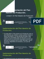 4 4 Implementacion Del Plan Maestro de P