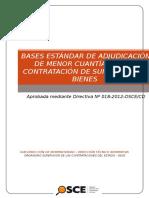 Bases 2015 Aquisicion de Semillas de Papa Del Proyecto