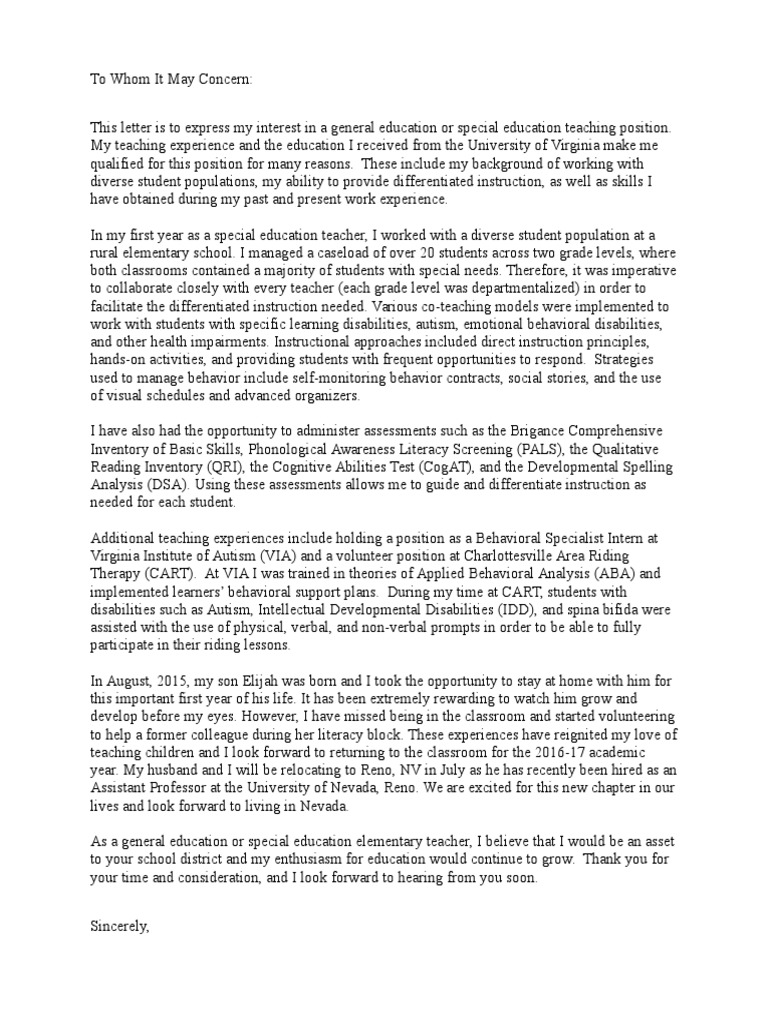 Cover Letter Special Education from imgv2-1-f.scribdassets.com