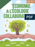 Ecologie Economie