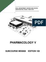 Pharmacology V