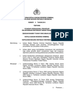 Perkaba No 3 Th 2014 Ttg Pelaksanaan Penyidikan Tp