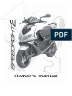 Peugeot Speedfight 100 Workshop Manual