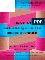 Kinesiologia y terapia