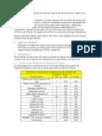 Cotizacion Contruccion de Un Puente de Regulacion y Medicion