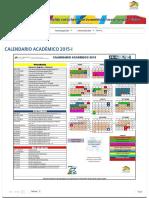 Calendario Académico 2015-i