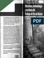 Estructura, Metodología y Escritura Del TFM-Gemma Muñoz-Alonso