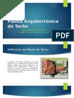 PLANTA ARQUITECTONICA DE TECHO