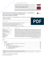 Schema Therapy for Borderline Personality Disorder a Comprehensive Review of Its Empirical Foundations, Effectiveness and Implementation