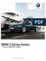 MY12 3 Series Sedan Product Guide