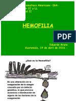 Hemofilia Iga 2016