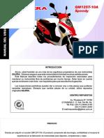 Manual Gilera QM125