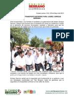 2016-05-28 Vamos Por Un Transporte Moderno Para Juárez