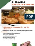 2° Conservacion de alimentos