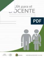 2015 Guía Docente Nuevo Ingreso