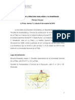 II JLIPNE 1ra. Circular Final c Mapa