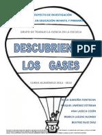 Proyecto Descubriendo Gases