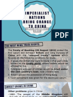 Imperialist Nations Bring Change to China