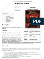 Dark Heresy (Role-playing Game) - Wikipedia, The Free Encyclopedia