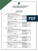 Fee Procedure Aug 16 Sbm Itb