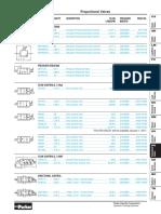 Parker Catálogo de Válvulas Proporcionales