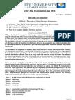 AMB101-Principles of Global Business Management
