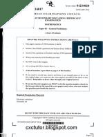 CSEC Jan 2016 - Mathematics - Paper 02 - Cxctutor.blogspot.com