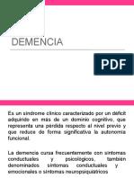 Demencias y Rnp