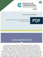 Modulo Nivelatorio Ingreso 2016