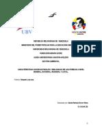 Caracteríaticas Socioculturales y Biológicas de Los Pueblos 03-04-2014