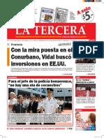 Diario La Tercera 30.05.2016