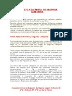 Impuesto a La Renta de Segunda Categoria Figueroa