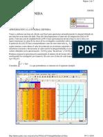 Integral Definida Excel
