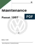 Dados Tecnicos Passat 97