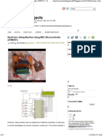 Electronic Voting Machine Using 8051 Microcontroller (AT89C51) ~ Embedded Projects