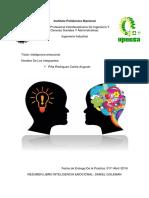 Resumen Libro Inteligencia Emocional