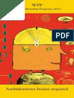 Wpp Marketing Fellowship Brochure Aug12