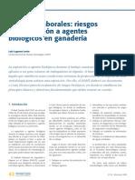 Zoonosis Laborales Riesgos de Exposicion a Agentes Biologicos en Ganaderia