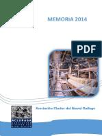Memoria 2014 Aclunaga