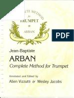 Arban Complete Method for Trumpet
