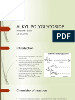 Alkyl Polyglycoside