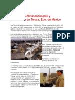 Terminal de Almacenamiento y Distribucion en Toluca