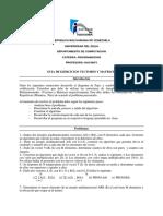 Guia de Ejercicios Vectores y Matrices