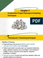 Network Analysis - CPM & PERT