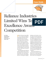 Case Study Reliance Industries Limited Wins Team Excellence Award Competition 1233527642586741 2