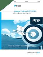 Catalogo Edirect 2015 2016