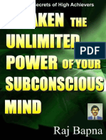 Awaken the Unlimited Power of Your Subconscious Mind_L